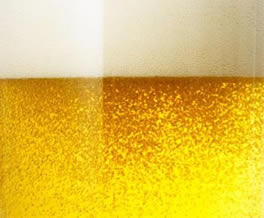 photo of a glass of beer
